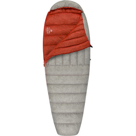 Sea to Summit Flame FmI Schlafsack regular Damen light grey/paprika